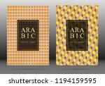islamic pattern vector cover...   Shutterstock .eps vector #1194159595