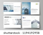 set of business templates for... | Shutterstock .eps vector #1194192958