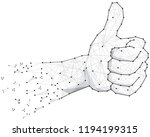 best choice symbol thumb up ...   Shutterstock .eps vector #1194199315