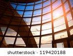 image of windows in morden...   Shutterstock . vector #119420188