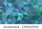 abstract vector geometric... | Shutterstock .eps vector #1194222952