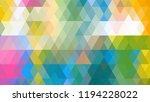 geometric design  mosaic ...   Shutterstock .eps vector #1194228022