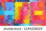 geometric design  mosaic ...   Shutterstock .eps vector #1194228025