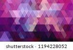 geometric design  mosaic ... | Shutterstock .eps vector #1194228052