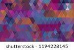 geometric design  mosaic ...   Shutterstock .eps vector #1194228145