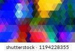 geometric design  mosaic ...   Shutterstock .eps vector #1194228355