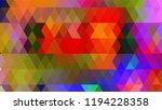 geometric design  mosaic ...   Shutterstock .eps vector #1194228358