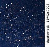 gold fragments on dark... | Shutterstock . vector #1194267205
