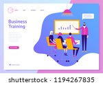 vector web page design template ... | Shutterstock .eps vector #1194267835
