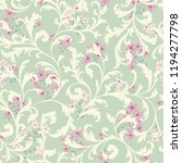 floral seamless pattern. ... | Shutterstock .eps vector #1194277798