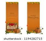 vertical banner set for... | Shutterstock .eps vector #1194282715