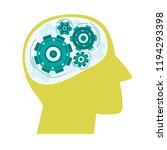 mental health concept....   Shutterstock .eps vector #1194293398