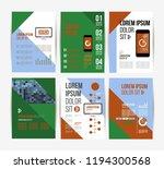 vector brochure template design ... | Shutterstock .eps vector #1194300568