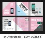 vector brochure template design ... | Shutterstock .eps vector #1194303655