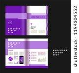 vector brochure template design ... | Shutterstock .eps vector #1194304552
