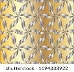 seamless geometric pattern.... | Shutterstock . vector #1194333922