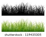 lush green grass | Shutterstock .eps vector #119435305