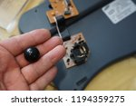 disassembled ball mouse | Shutterstock . vector #1194359275
