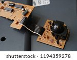 disassembled ball mouse | Shutterstock . vector #1194359278