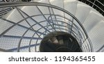 stairs abstract cochlea   | Shutterstock . vector #1194365455