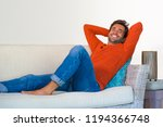 lifestyle home portrait of... | Shutterstock . vector #1194366748