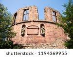 inside and decor of heidelberg...   Shutterstock . vector #1194369955