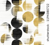 abstract brushed dots graphic... | Shutterstock . vector #1194380722