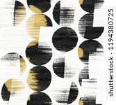 abstract broken dots graphic... | Shutterstock . vector #1194380725