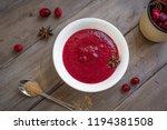 homemade cranberry sauce ... | Shutterstock . vector #1194381508