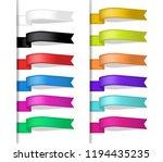 ribbon symbol for rip funeral... | Shutterstock .eps vector #1194435235