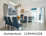 interior design in living room .... | Shutterstock . vector #1194441328