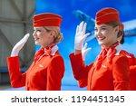 moscow  russia   05 04 2018  an ... | Shutterstock . vector #1194451345