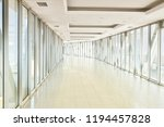 panoramic view on empty office... | Shutterstock . vector #1194457828