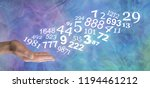 consult a numerologist and... | Shutterstock . vector #1194461212