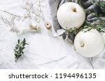 autumn styled photo. feminine... | Shutterstock . vector #1194496135