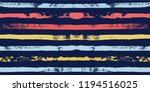 paint stripe seamless pattern.... | Shutterstock .eps vector #1194516025