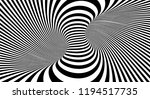 optical illusion lines... | Shutterstock .eps vector #1194517735