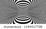 optical illusion lines... | Shutterstock .eps vector #1194517738