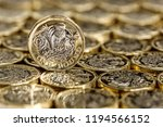british one pound | Shutterstock . vector #1194566152