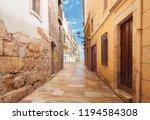 Street Of The Spanish City Of...