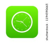 wall clock icon digital green... | Shutterstock .eps vector #1194590665