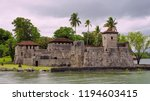 spanish colonial fort san... | Shutterstock . vector #1194603415