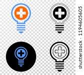 medical bulb eps vector...   Shutterstock .eps vector #1194605605