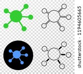 node links eps vector...   Shutterstock .eps vector #1194605665
