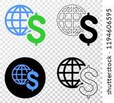 global business eps vector...   Shutterstock .eps vector #1194606595