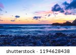 sea and sky sunset background | Shutterstock . vector #1194628438