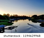 the beautiful morning view... | Shutterstock . vector #1194629968