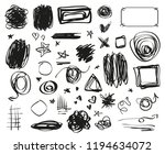 grunge signs. infographic... | Shutterstock .eps vector #1194634072