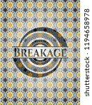 breakage arabesque emblem... | Shutterstock .eps vector #1194658978