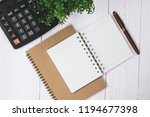 fountain pen or ink pen with... | Shutterstock . vector #1194677398